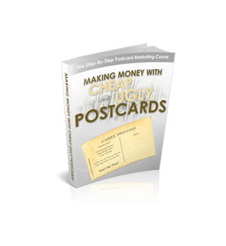 Making Money With Cheap Ugly Postcards