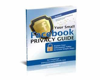 Your Small Facebook Privacy Guide 2011