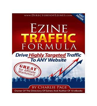 Ezine Traffic Formula