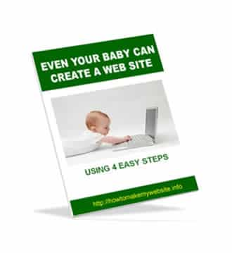 Even Your Baby Can Create A Website