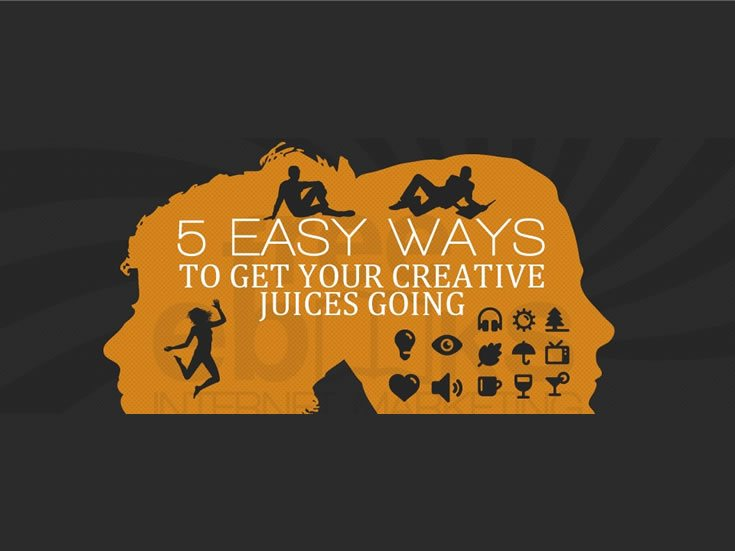 Image result for 5 Easy Ways To Get Your Creative Juices Going