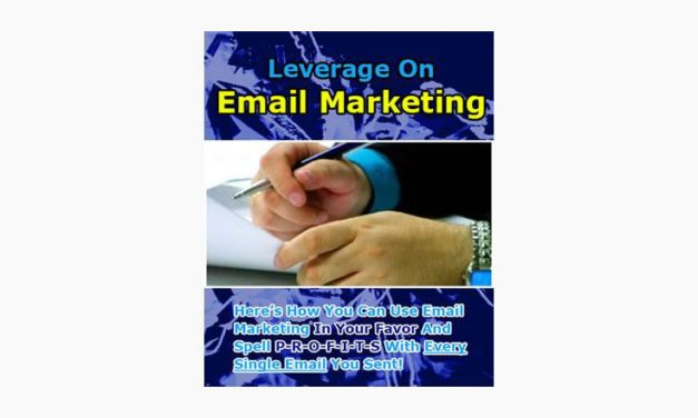 Leverage on Email Marketing