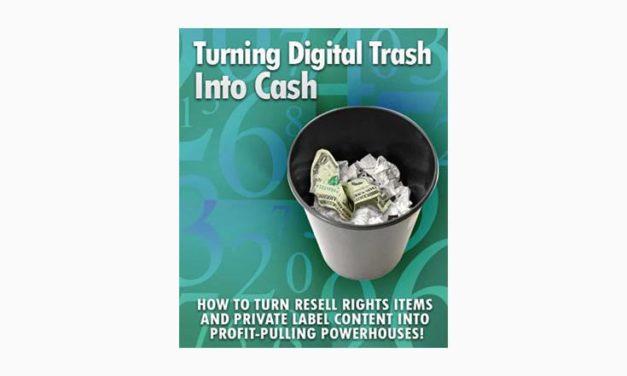 Turning Digital Trash into Cash