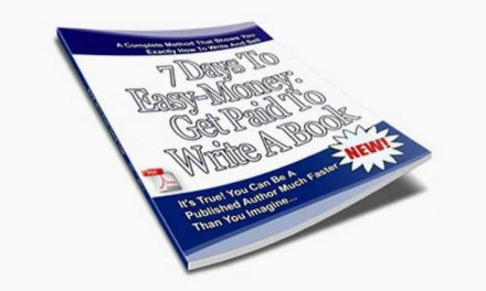 7 Days To Easy-Money – Get Paid To Write A Book