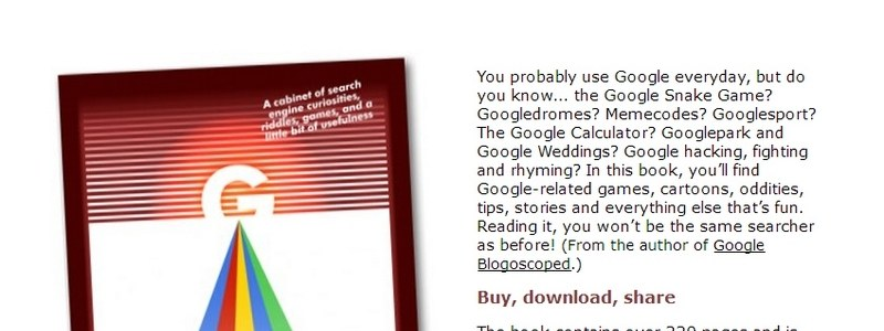 55 Ways to Have Fun With Google by Philipp Lenssen