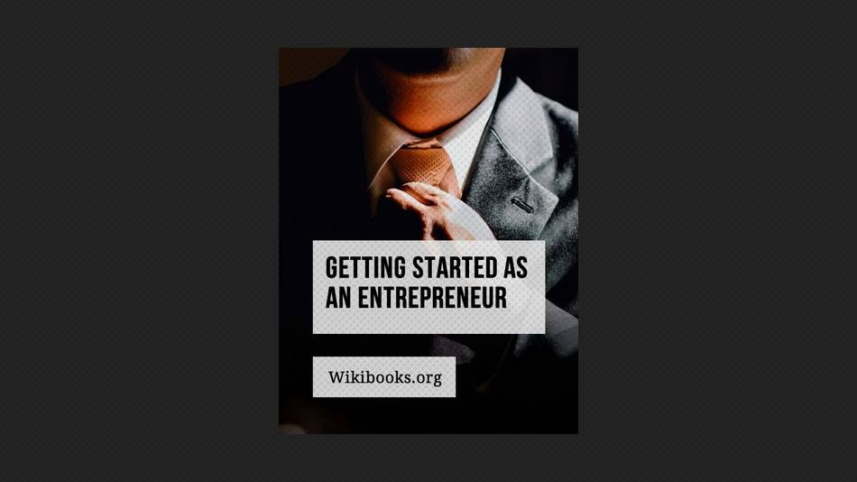 Getting Started as an Entrepreneur