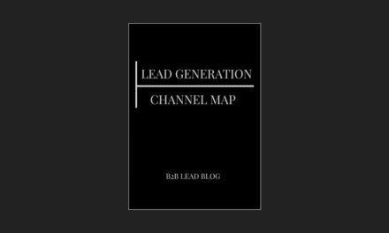 Lead Generation Channel Map