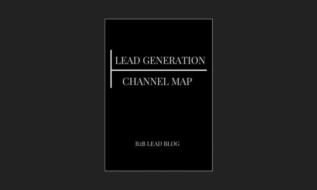 Lead Generation Channel Map