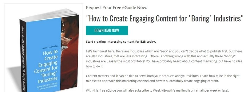 How to Create Engaging Content for 'Boring' Industries by Weekly Growth