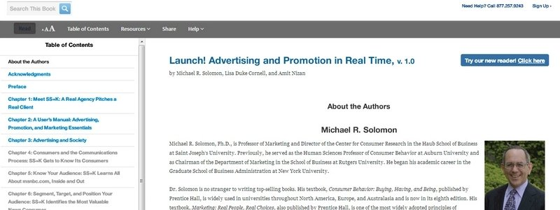 Launch! Advertising and Promotion in Real Time by M. Solomon, L. D. Cornell, A. Nizan