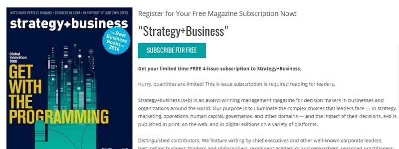 Strategy+Business by PwC Strategy& LLC
