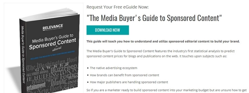 The Media Buyer's Guide to Sponsored Content by Native Advertising Institute