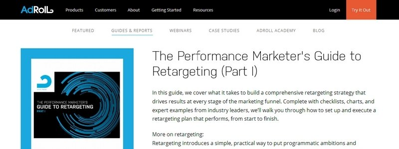 The Performance Marketer's Guide to Retargeting (Part I) by Adroll