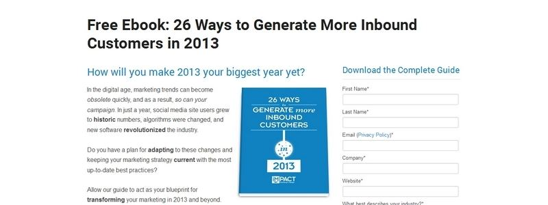 26 Ways to Generate More Inbound Customers in 2013