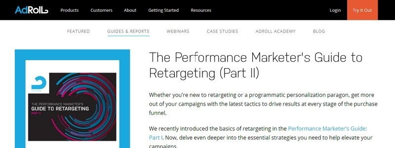 The Performance Marketer's Guide to Retargeting (Part II) by Adroll