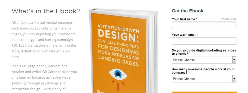 Attention-Driven Design: 23 Visual Principles For Designing More Persuasive Landing Pages by Unbounce