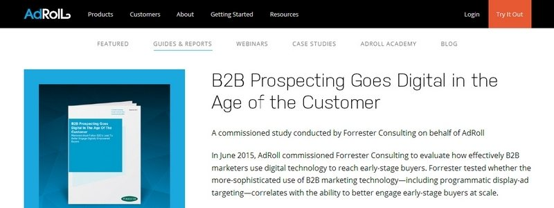 B2B Prospecting Goes Digital in the Age of the Customer by Adroll