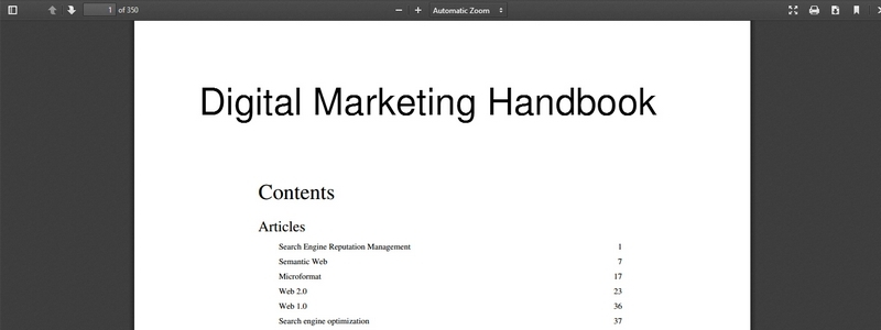 Digital Marketing Handbook by eMarketing Consult