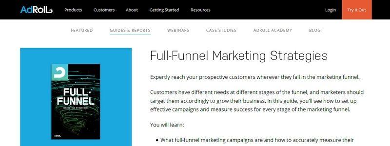 Full-Funnel Marketing Strategies by Adroll