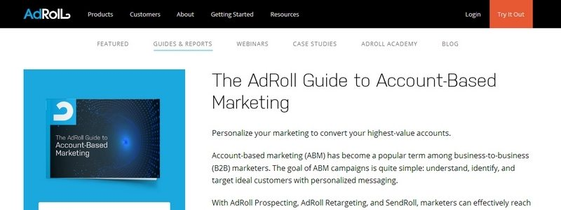 The AdRoll Guide to Account-Based Marketing by Adroll
