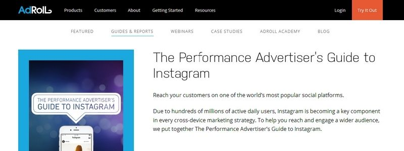 The Performance Advertiser's Guide to Instagram by Adroll