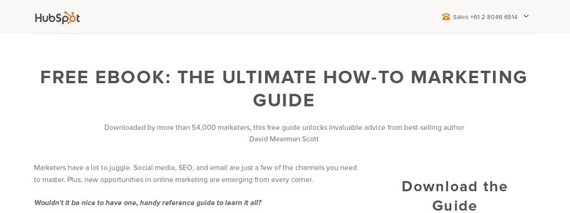 The Ultimate How-to Marketing Guide by David Meerman Scott