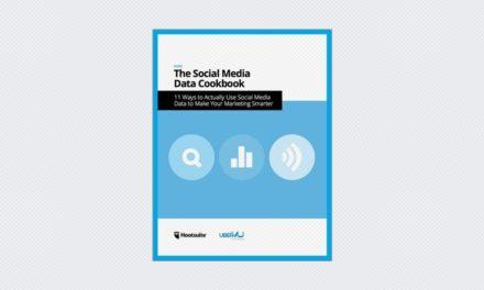 Social Media Data Cookbook –For Marketers