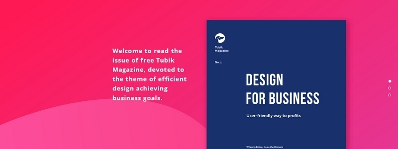 Design for Business: 3 Free Design Magazines by Tubik Magazine