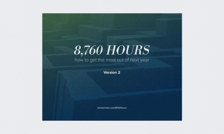 8,760 Hours 2.0 – How to get the most out of next year