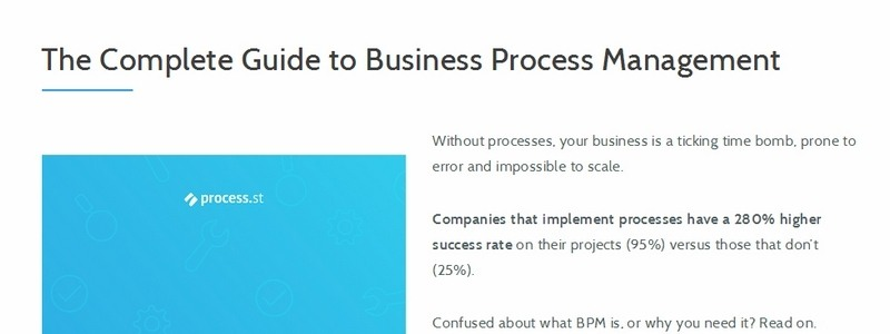 The Complete Guide to Business Process Management by Benjamin Brandall & Adam Henshall