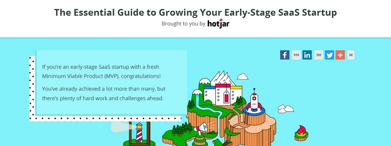 The Essential Guide to Growing Your Early-Stage SaaS Startup by Hotjar