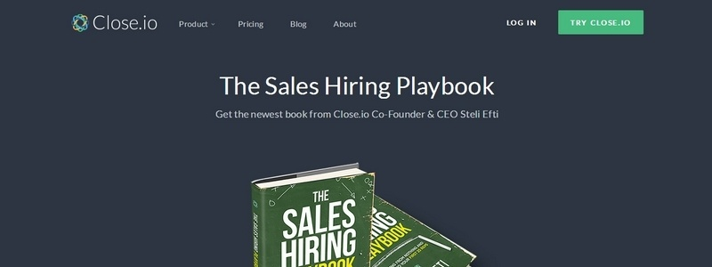 The Sales Hiring Playbook by Steli Efti
