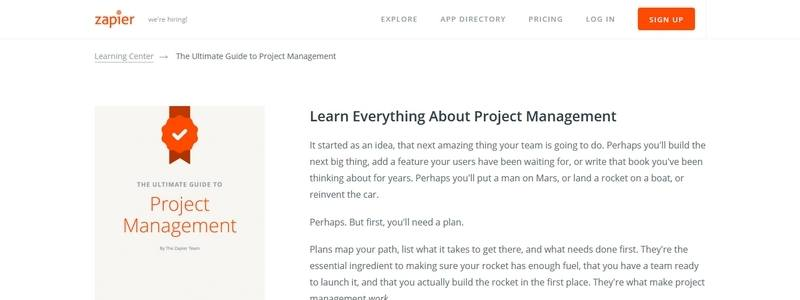 The Ultimate Guide to Project Management by The Zapier Team